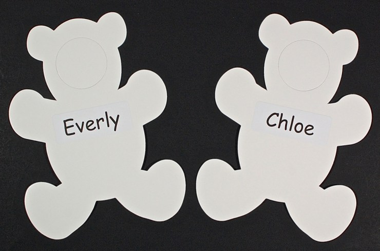 Personalized bears