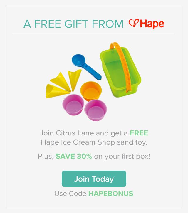 Citrus Lane free gift