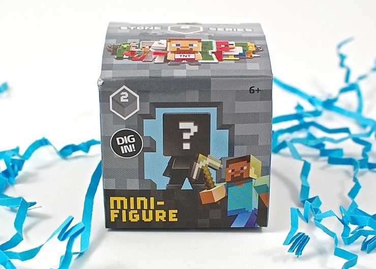 Minecraft mini figure