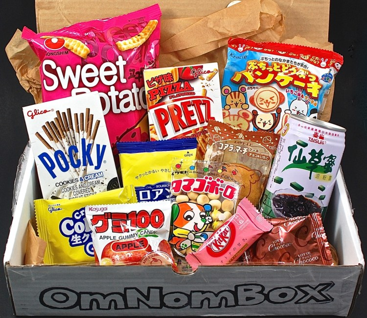OmNomBox July 2015 Review & Exclusive Coupon Code