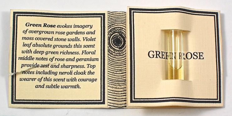 Green Rose fragrance