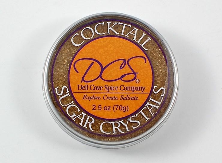cocktail sugar crystals