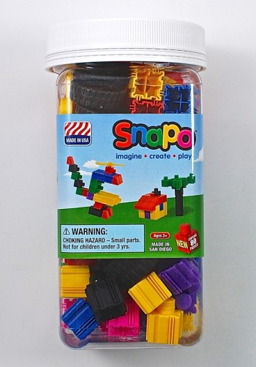 Snapo blocks