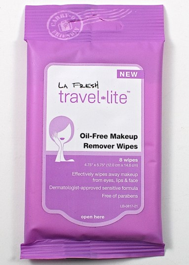 La Fresh makeup wipes