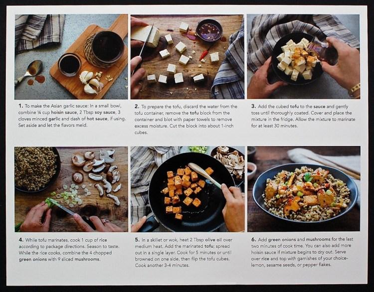 garlic tofu recipe
