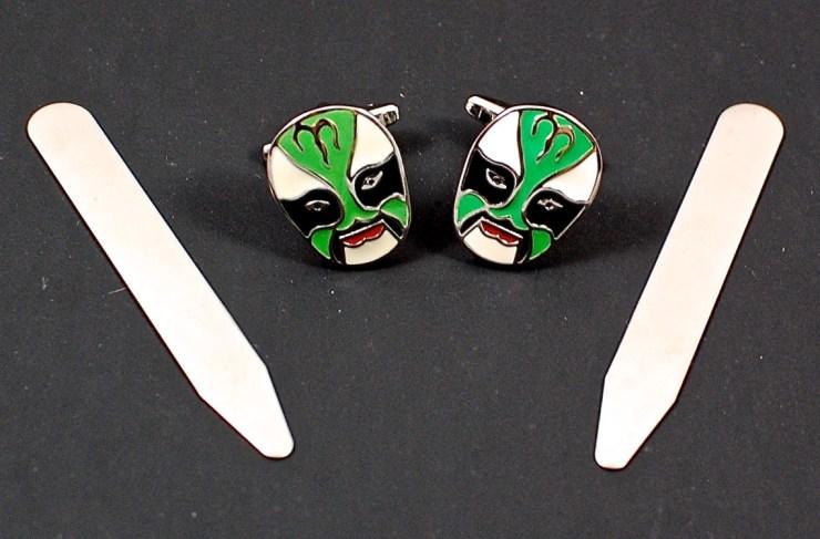 Mexican Luchador Wrestling Mask Cufflinks