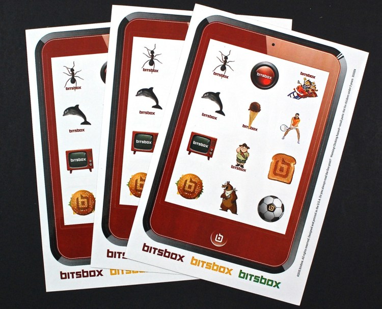 Bitsbox stickers