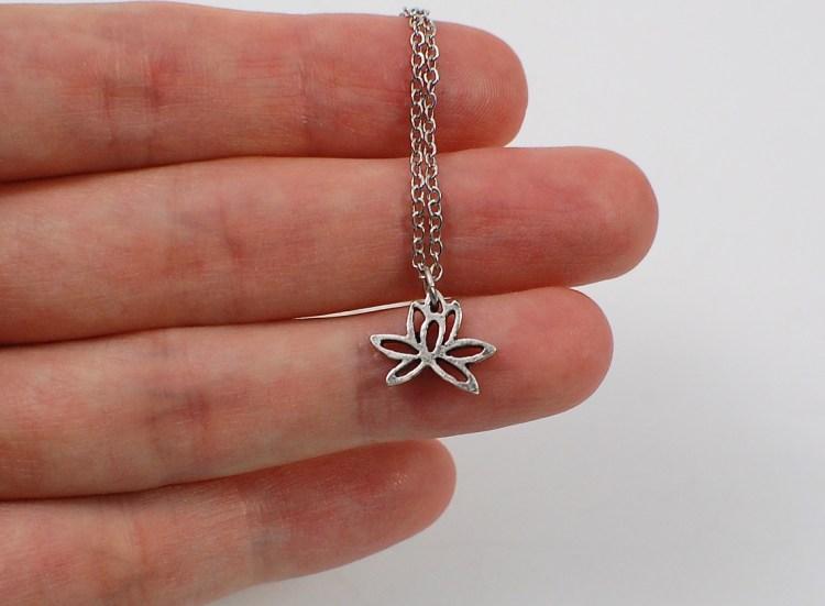 Jesse & Co lotus necklace