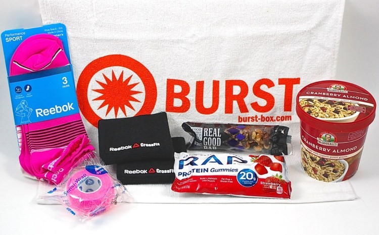 Burst Box August 2015 Review & Coupon Code