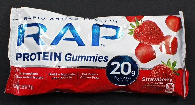 RAP protein gummies