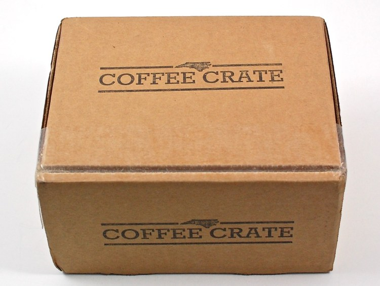 Coffee Crate box