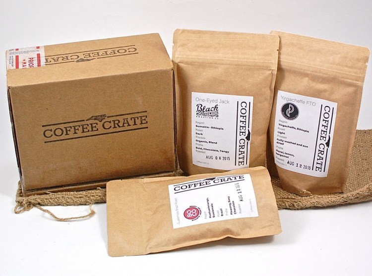 Coffee Crate August 2015 Review
