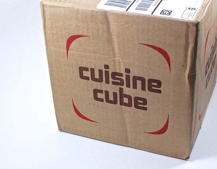 Cuisine Cube box
