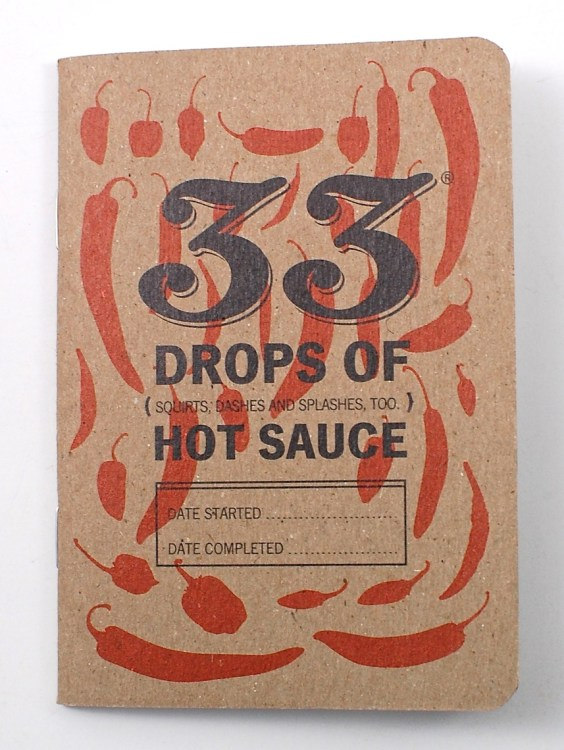 hot sauce notebook