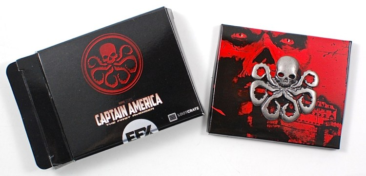 Captain America Hydra pin