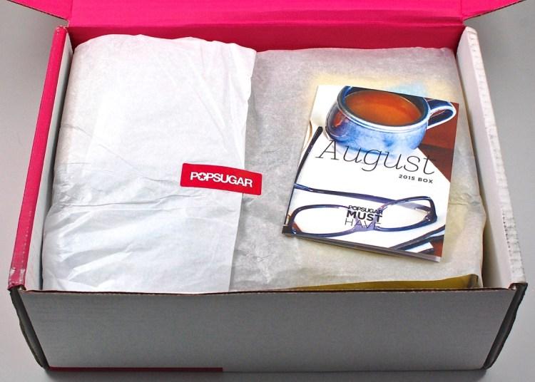 August Popsugar box
