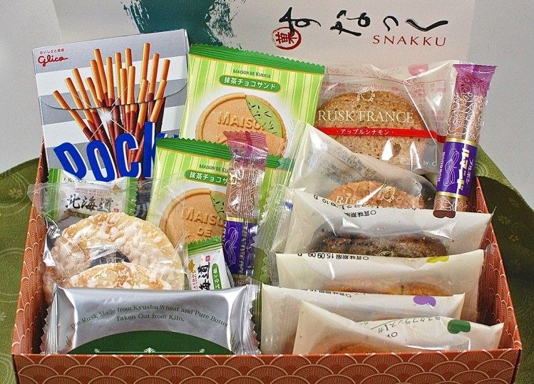 Snakku August 2015 Japanese Snack Box Review & Giveaway