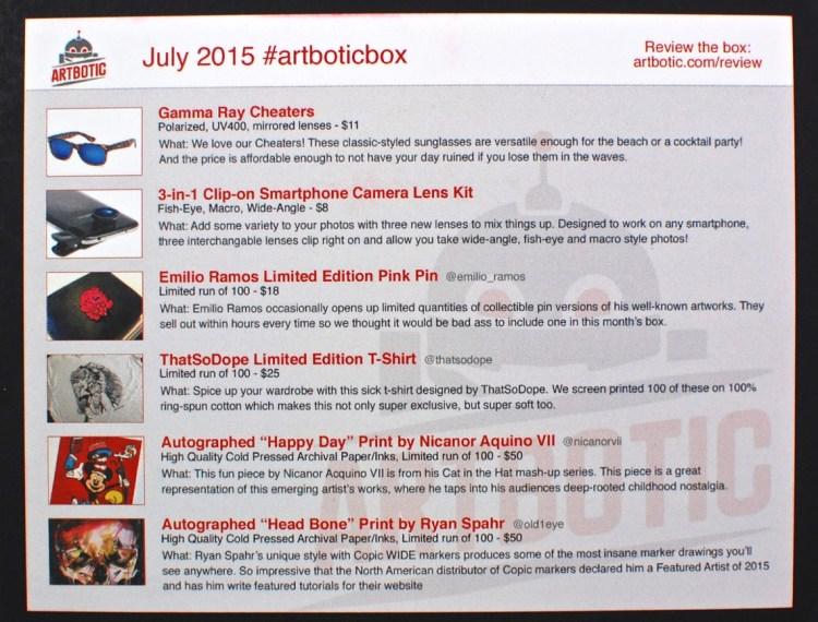 August 2015 Artbotic
