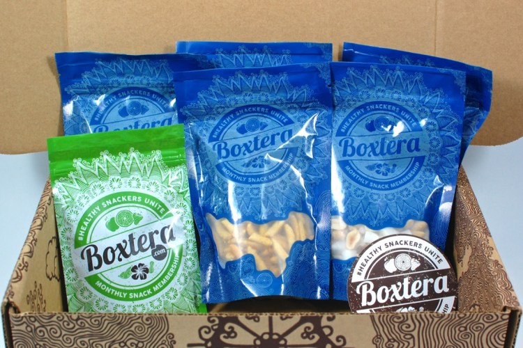Boxtera September 2015 Snack Box Review
