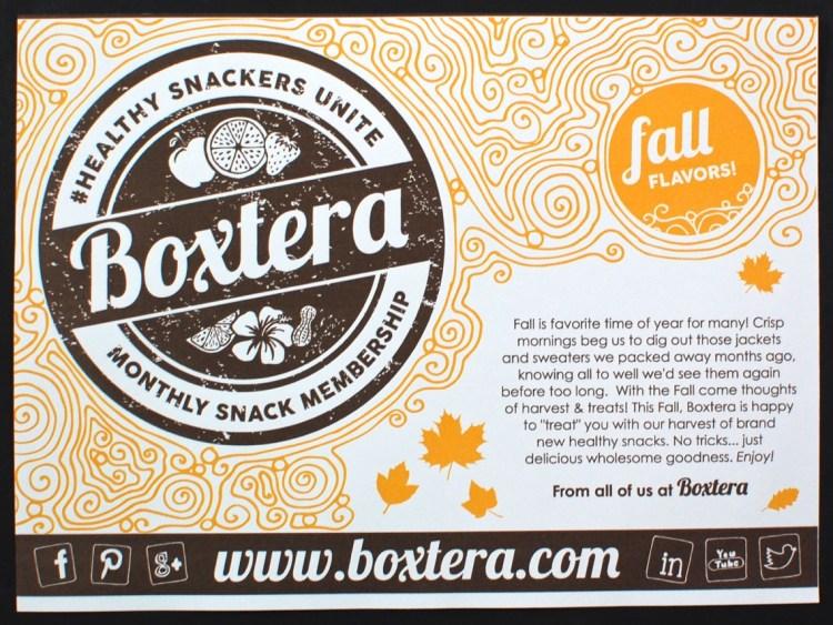 September 2015 Boxtera