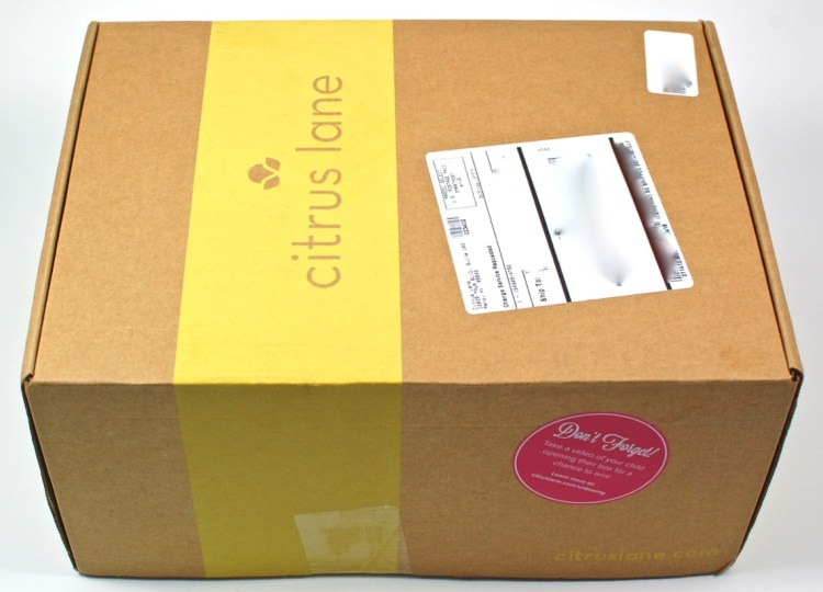 Citrus Lane box