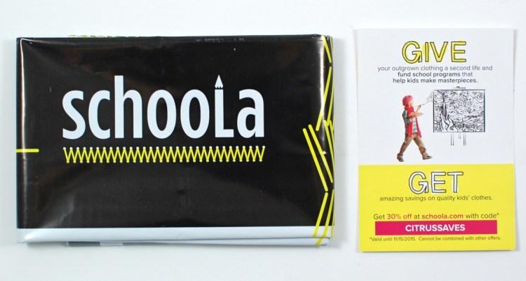 Schoola coupon code