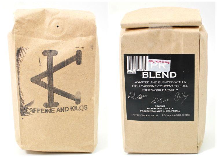 Caffeine & Kilos coffee