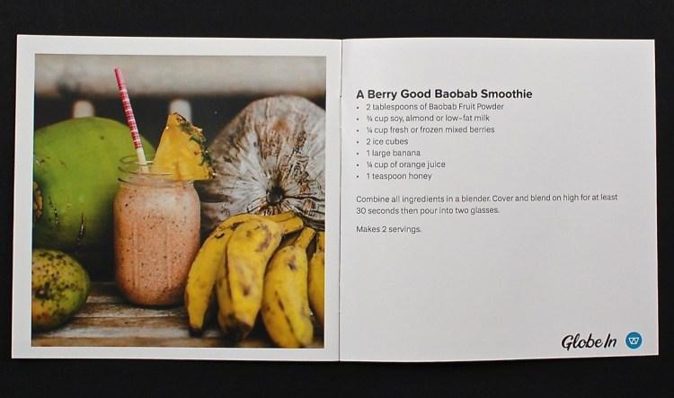 baobab smoothie recipe