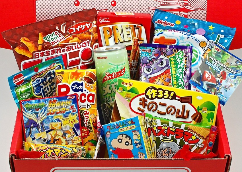 August 2015 Japan Crate
