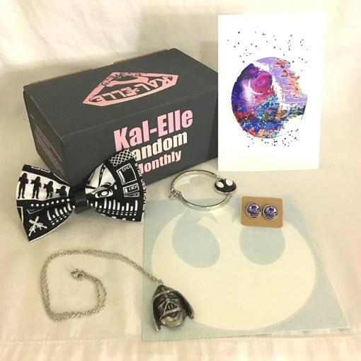 Kal-Elle Fandom Monthly box