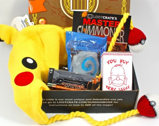 September 2015 Loot Crate