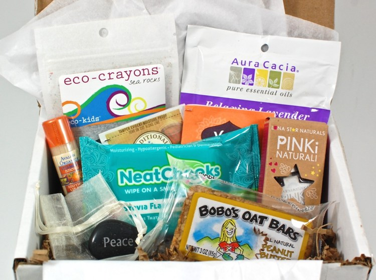 Mama-Baby Box September 2015 Review & Coupon Code