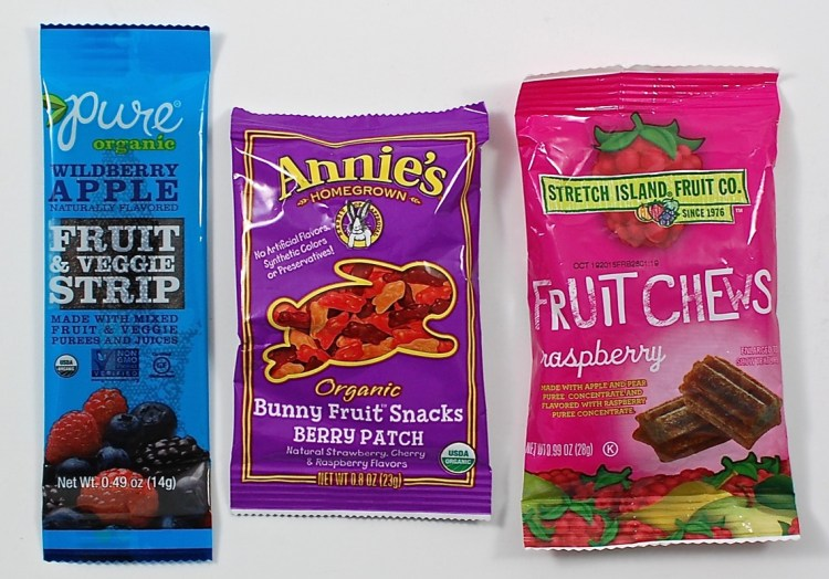 Annie's fruit chews