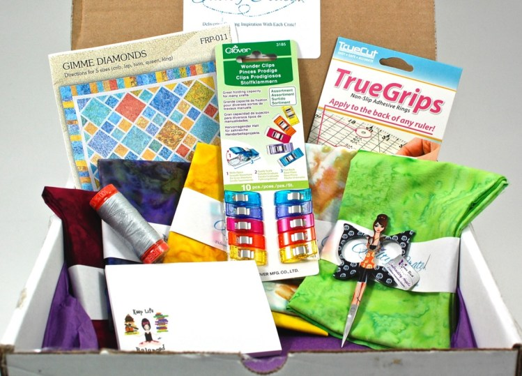 Quilty Crate September 2015 Review & Coupon Code