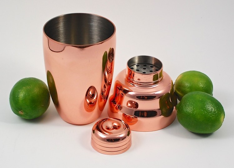 copper-plated shaker