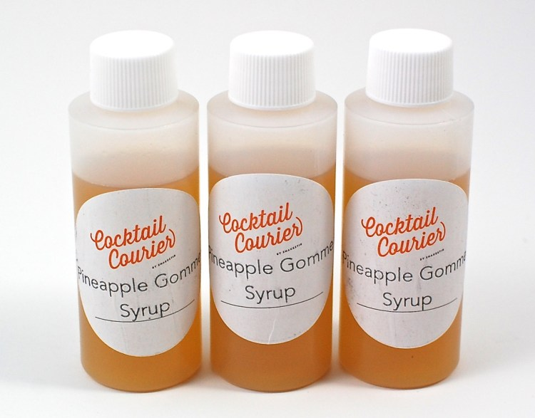 Pineapple syrup