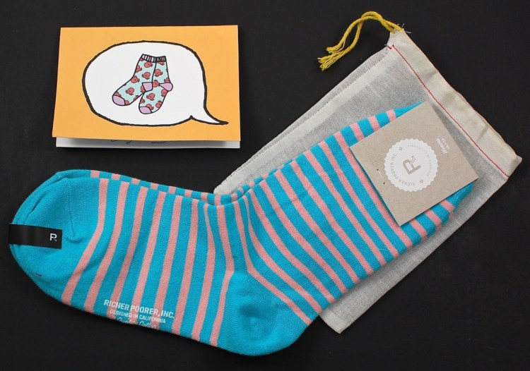 Say it with a Sock September 2015 Review