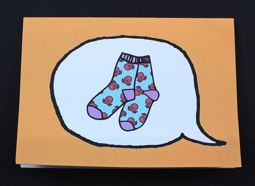 Say it with a Sock card