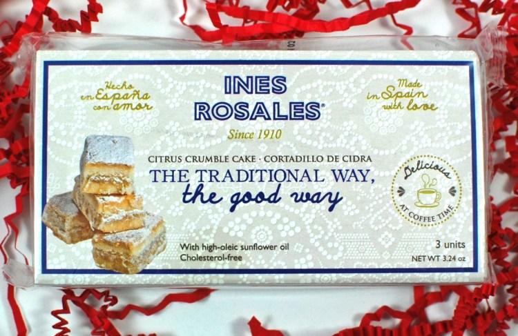 Ines Rosales citrus crumble cakes