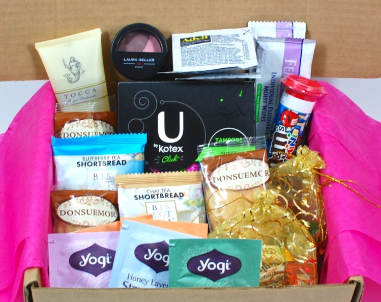 Bonjour Jolie September 2015 Time of the Month Box Review