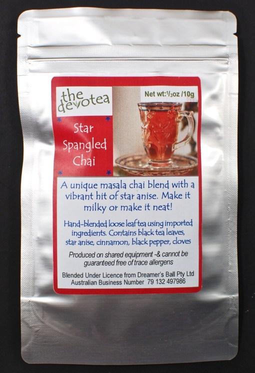 Star Spangled Chai tea