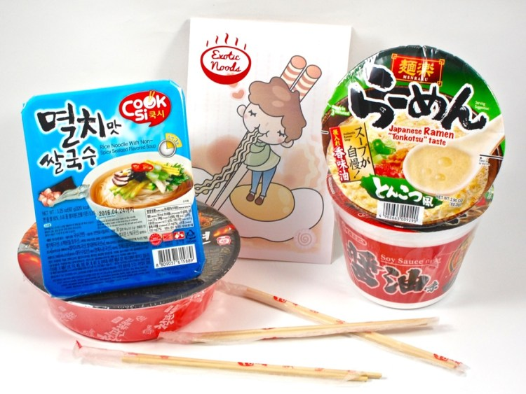 Exotic Noods September 2015 Review & Coupon Code