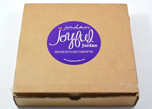 Joyful Jordan box