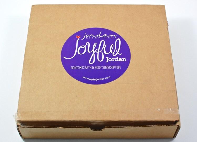 Joyful Jordan box