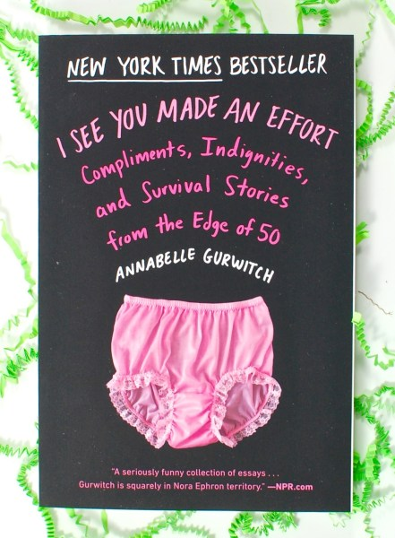 I See You Made an Effort book