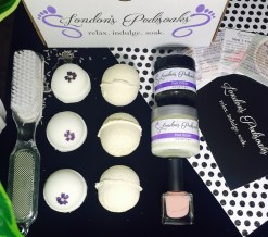 London's Pedisoaks subscription box