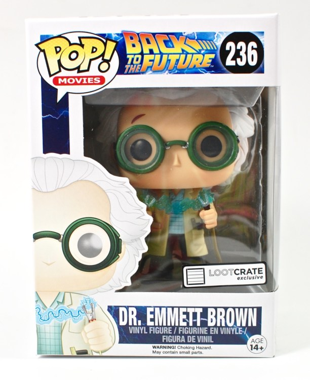Doc Brown Funko Pop