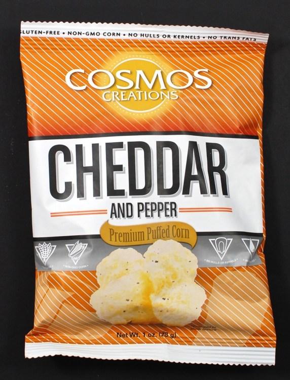 Cosmos cheddar puffs