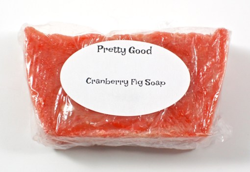 cranberry fig soap