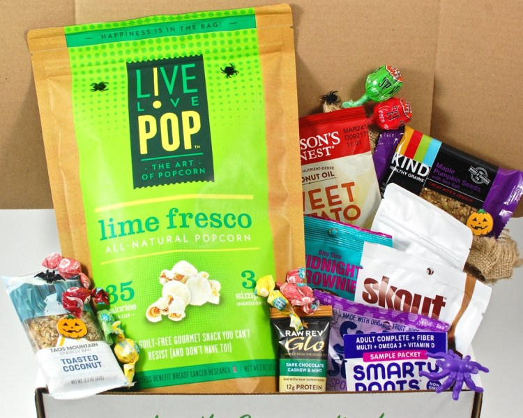 SnackSack October 2015 Review & Coupon Code